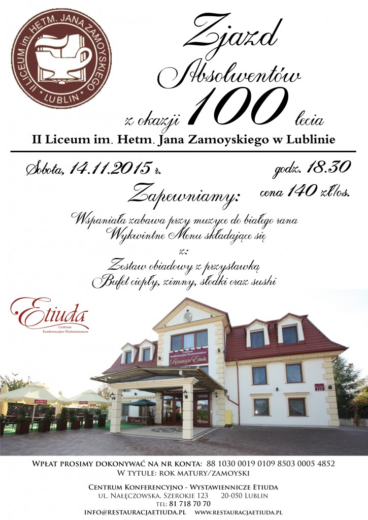 Zjazd Absolwentów II LO w Lublinie