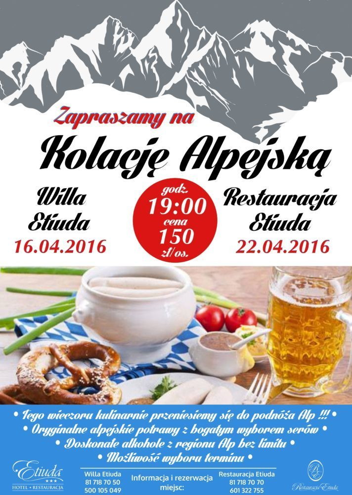 Alpejska kolacja
