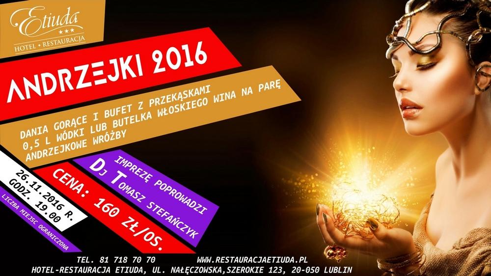 Impreza Andrzejkowa w Etiudzie